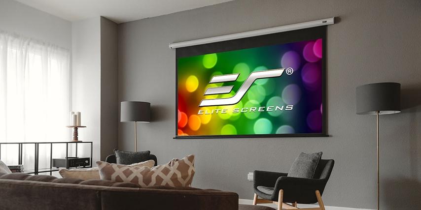 Elite Screens VMAX 2 er blandt de bedste projektor lærreder på markedet