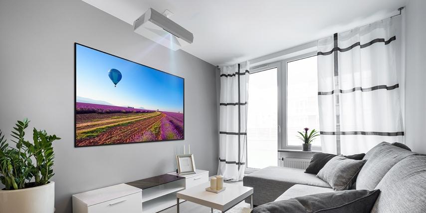 Optoma CinemaX P2 er en af de få projektorer, der er udstyret med et kompetent lydsystem