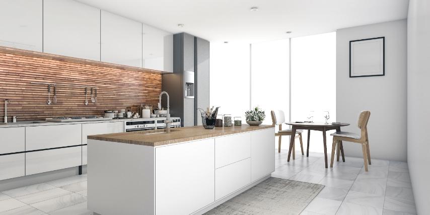 Vælg en køleskabsfinish der passer bedst til din egen smag og størrelsen på dit køkken