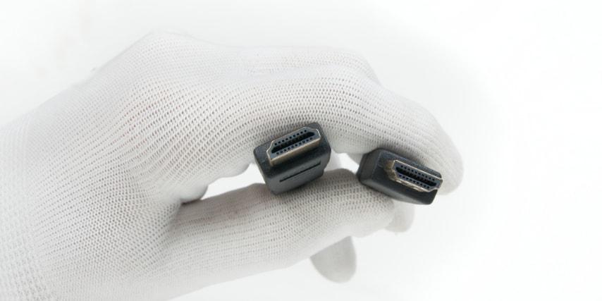 Den mest benyttede port på en soundbar er HDMI-indgangen. Husk altid at bruge et godt og solidt HDMI-kabel